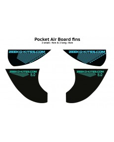 Set d'ailerons pour Pocket Air
